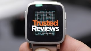 Pebble Time Steel - Hands-on - MWC 2015