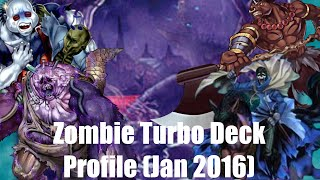 Yu-Gi-Oh! Zombie Turbo Deck Profile (January 2016