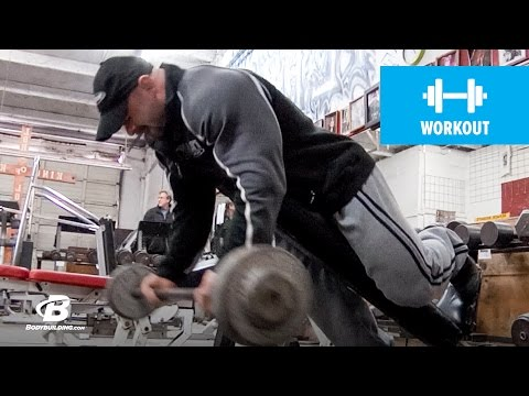 Branch Warren&#;s Brutal Arm Workout |  Road to the Arnold (HD)
