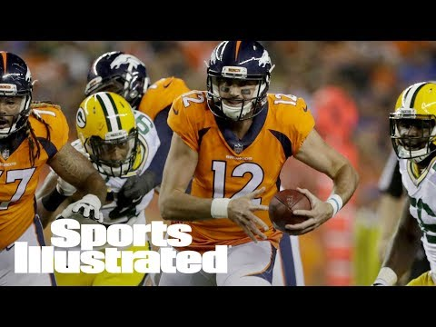 Broncos QB Paxton Lynch To Miss Several Weeks With Shoulder Injury | SI Wire | Sports Illustrated