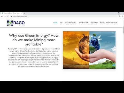 DAGO Mining - Solusi Cerdas Untuk Para Penambang Cyrptocurrency Dan Blockchain