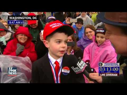 Adorable 9-year old tells Ed Henry why he likes Trump