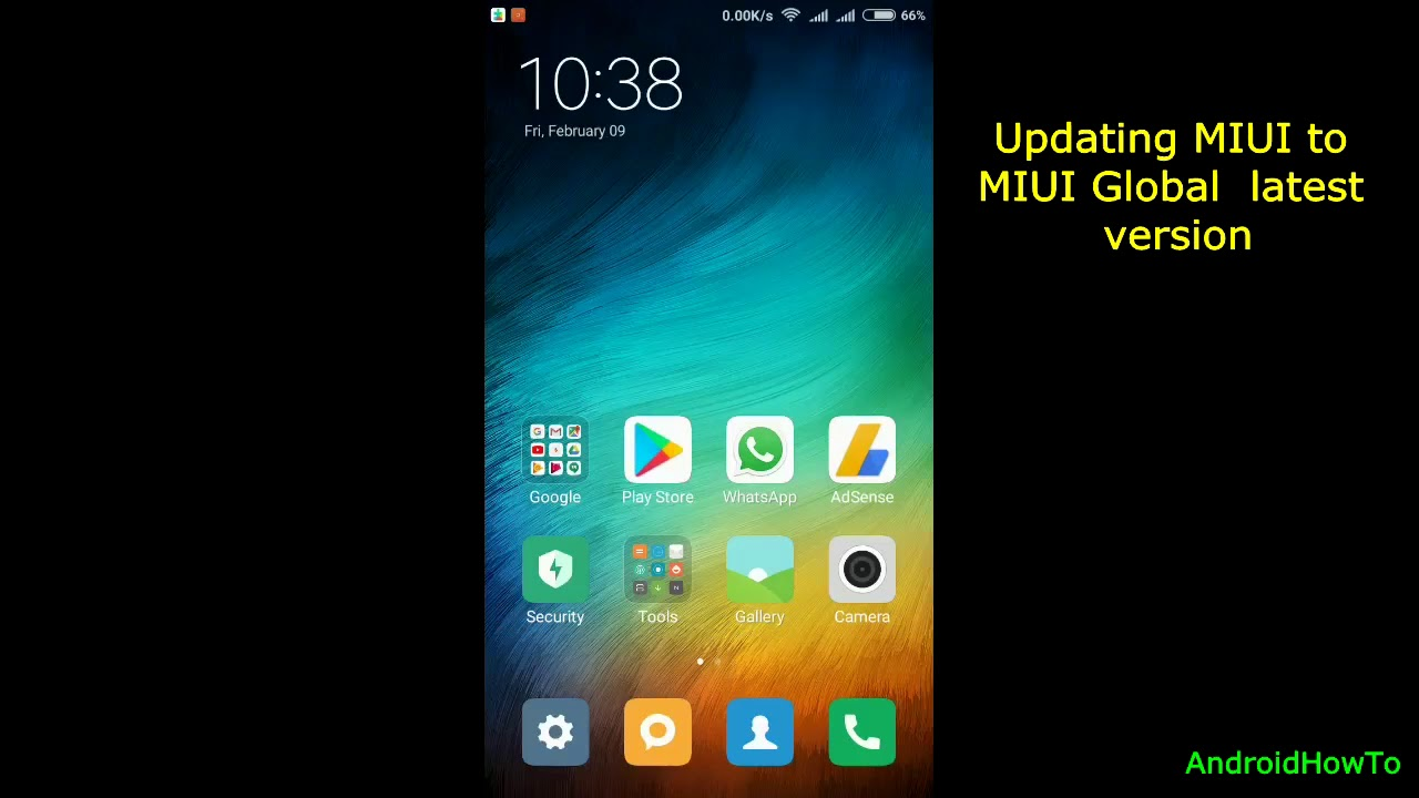 How to update Xiaomi MIUI Version - YouTube
