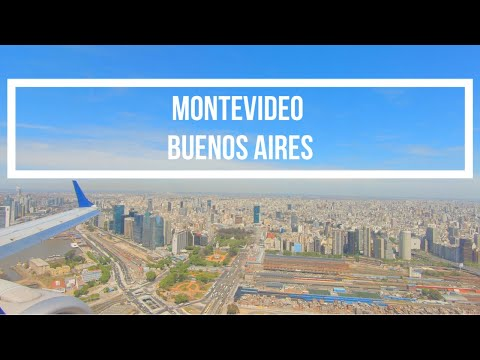Aeroparque Jorge Newbery Arrival Flight From Montevideo On Embraer 190 ✈️