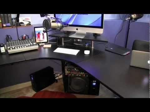 Podcast Studio Setup - July 2011