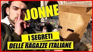 I Segreti delle Ragazze Italiane - [IL SACCHETTO DEI SEGRETI] - [Esperimento Sociale] - theShow
