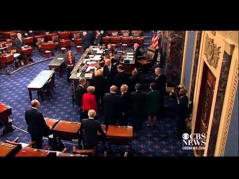 Biden swears in 113th Senate