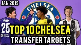 TRANSFER NEWS! TOP 10 Chelsea TRANSFER TARGETS January 2019 ft Lozano, Chiesa, Romagnoli