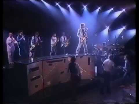 Huey Lewis And The News - Back In Time (Live) - BBC1 - Monday 31st August 1987
