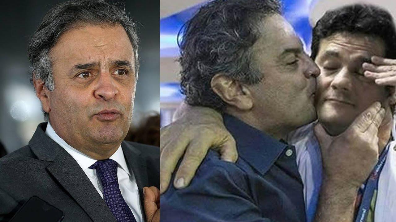 Bomba: Deputado Aécio Neves Beijou o Famoso Juiz Sérgio ...