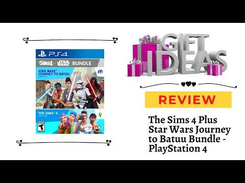 The Sims 4 Plus Star Wars Journey to Batuu Bundle PlayStation 4