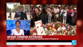 Spain: Police links Alcanar and Cambrils attacks with Barcelona