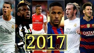 TOP 100 SOCCER PLAYERS 2017