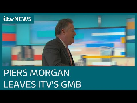 Piers Morgan leaves role on Good Morning Britain after row over Meghan comments | ITV News