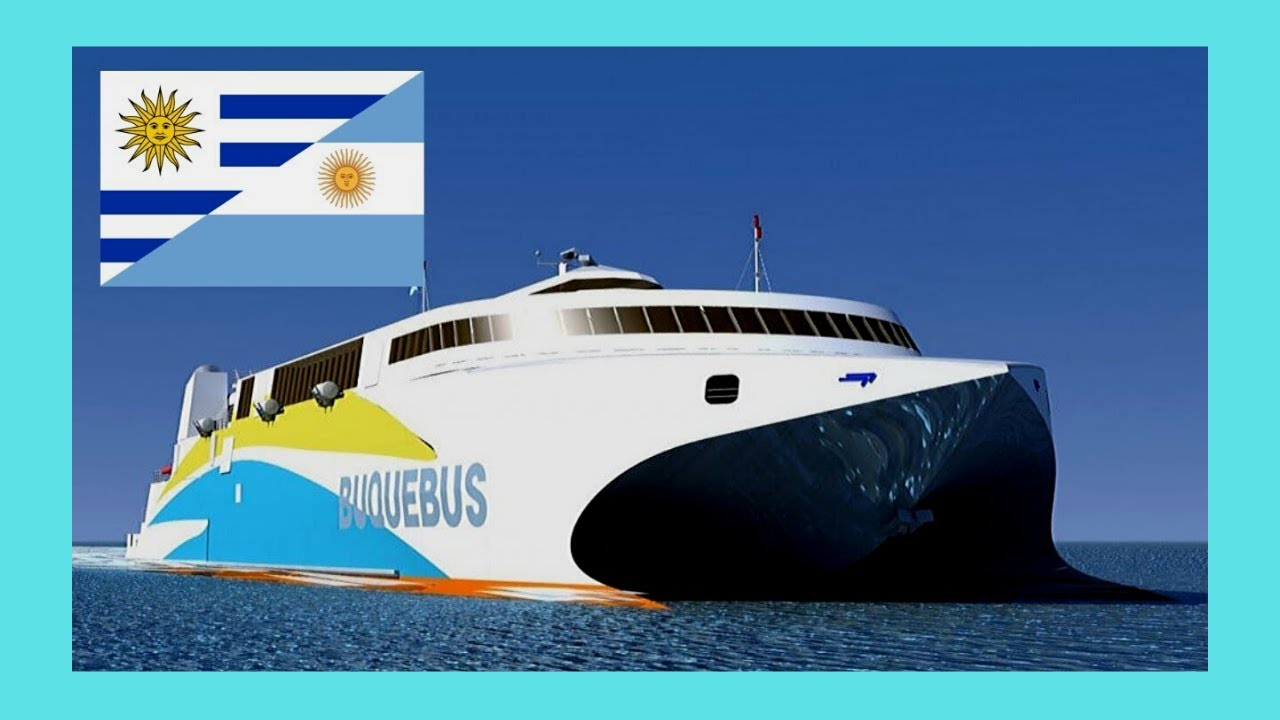 Scenic Ferry Trip From Argentina To Uruguay Buenos Aires To Colonia Youtube