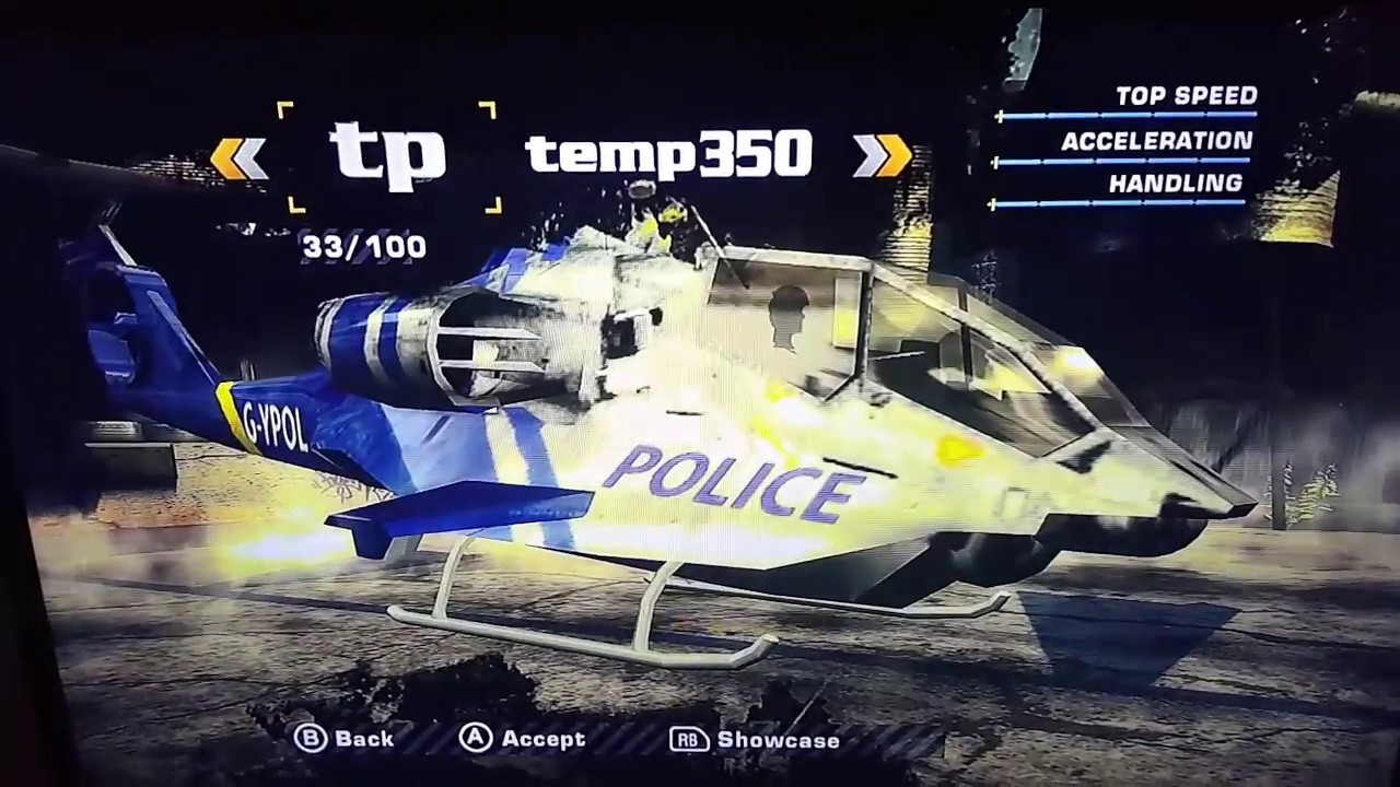 Need for Speed Most Wanted 2005 Xbox 360 Bonus & Cops Cars Save Game