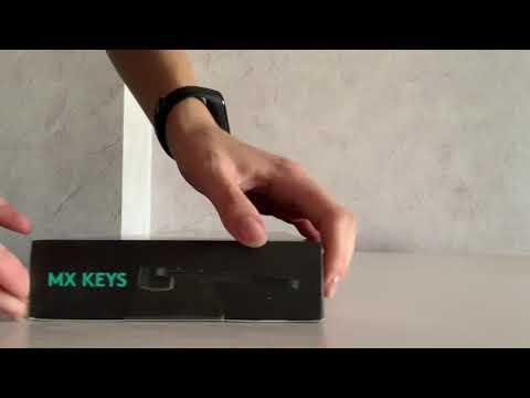 Клавиатура беспроводная Logitech MX Keys Wireless Illuminated Graphite (920-009417)