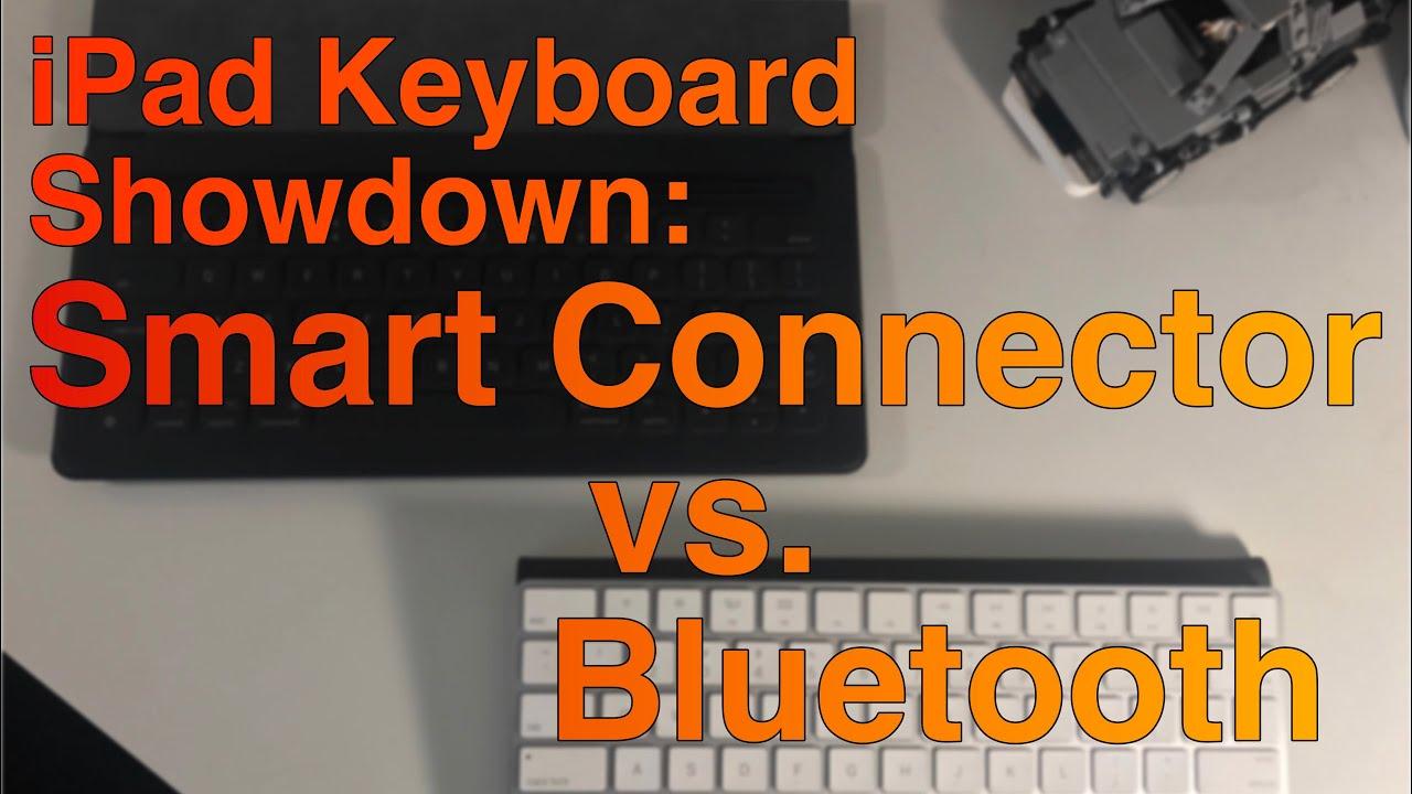 ipad keyboard showdown smart connector vs bluetooth youtube. Black Bedroom Furniture Sets. Home Design Ideas