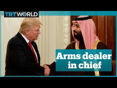 Donald Trump boasts about arms sales to Saudi's crown prince