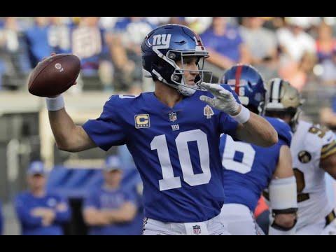 Eli Manning 2018 Highlights