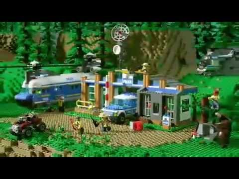 lego city forest police helicopter with Watch on Fire Utility Truck 60111 further Activities moreover Lego 4440 in addition Watch further Police Dog Van.