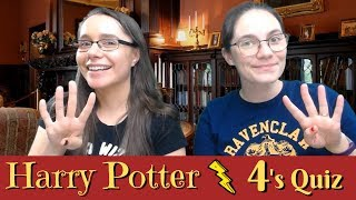 Which of the 4 Harry Potter Quiz | Pottermasters