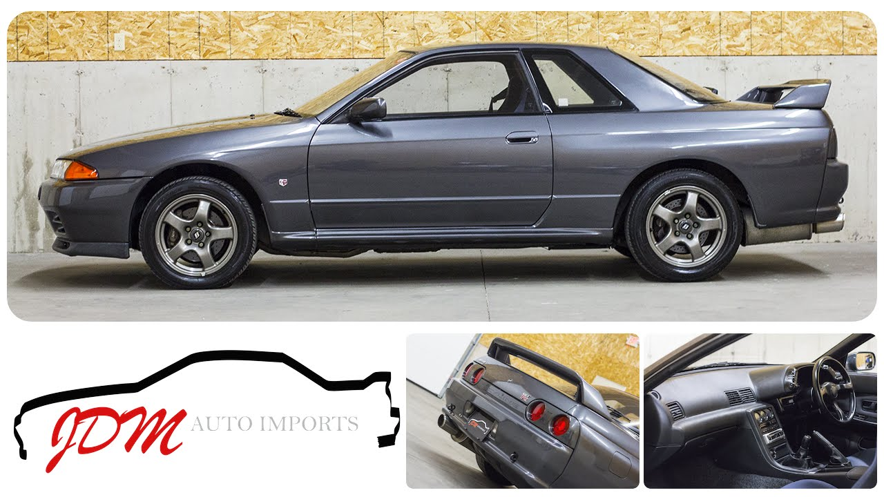 1989 nissan skyline r32 gt r for sale jdm auto imports llc youtube 1989 nissan skyline r32 gt r for sale jdm auto imports llc vanachro Gallery