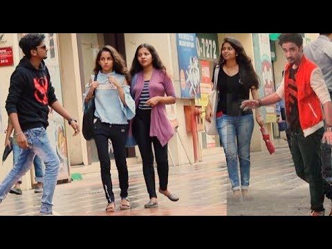 RAGHAV SLOW MOTION DANCE PRANK ON CUTE GIRLS | Pranks by B4Bachao | Pranks in india