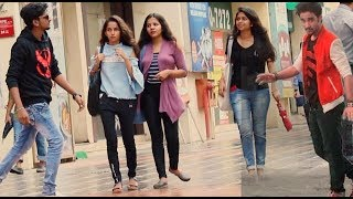 raghav slow motion dance prank on cute girls pranks by b4bachao pranks in india