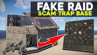 RUST *FAKE RAID* SCAM TRAP FARM - Rust Electric Trap Base