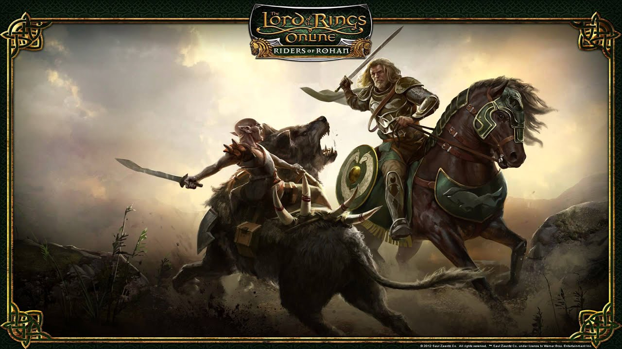 roaming free the lord of the rings online� riders of