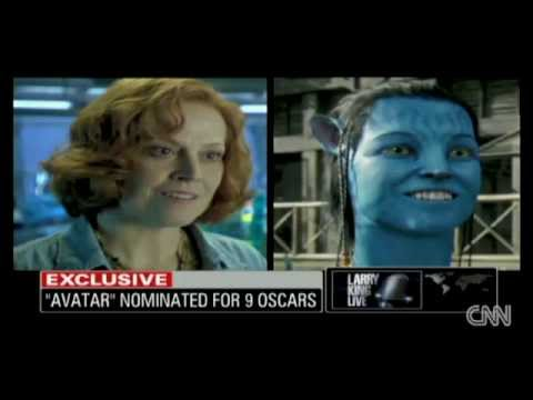 Sigourney Weaver: Reptilian Avatar 2010