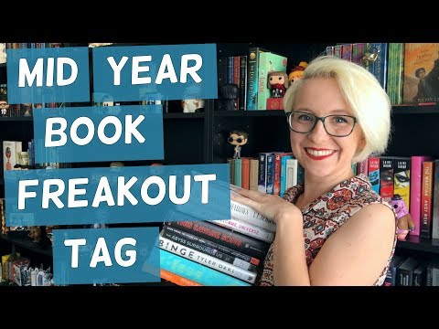 MID YEAR BOOK FREAKOUT TAG (2017)