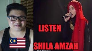 (Filipino Reaction) Shila Amzah - Listen l I Am A Singer