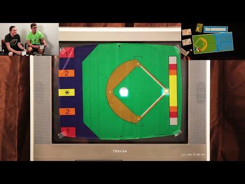 Let's Play: Baseball (Magnavox Odyssey 1972)