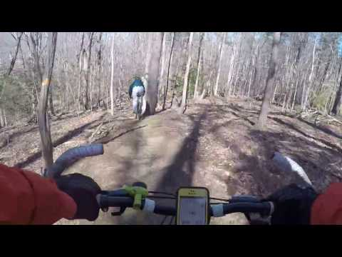 Single Track in Arnold Maryland