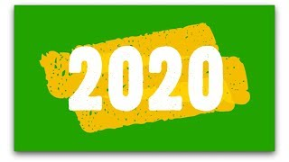 Happy New Year 2020 Wishes 2020 Text Templates Green Screen Titles HappyNewYear