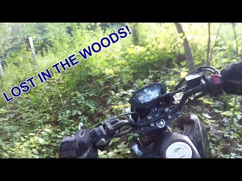 I GOT LOST IN THE WOODS!