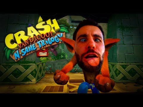 Crash Bandicoot - N'Sane Trilogy PT#12 - High Road, isso aqu