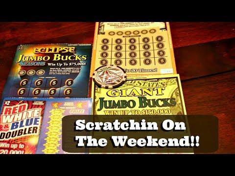 Some Weekend Lottery Scratch Off Tickets | A Few Winners