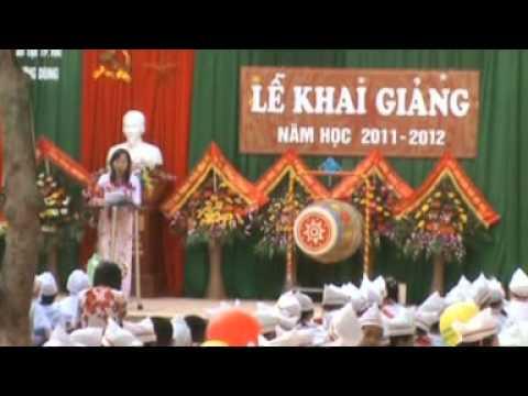 Tieu hoc hung dung 1 khai giang 2011