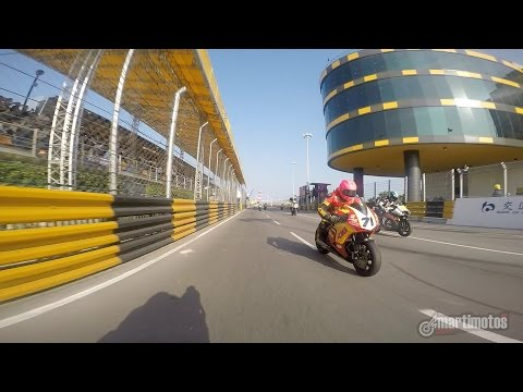 On Board Macau GP by Paul Shoesmith (First lap and crash)