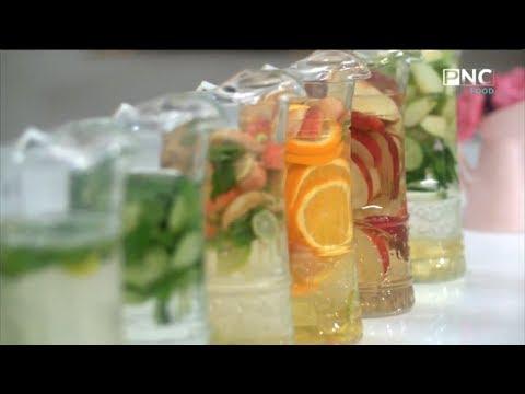 سفرة سالي مع سالي فؤاد | مجموعة متنوعة من مشروبات الديتوكس