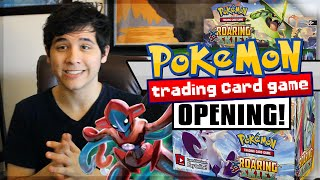 Pokémon TCG | Roaring Skies Booster Box Opening PART 1!