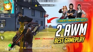Incredible AWM Duo Best Over Power Gameplay - Garena Free Fire