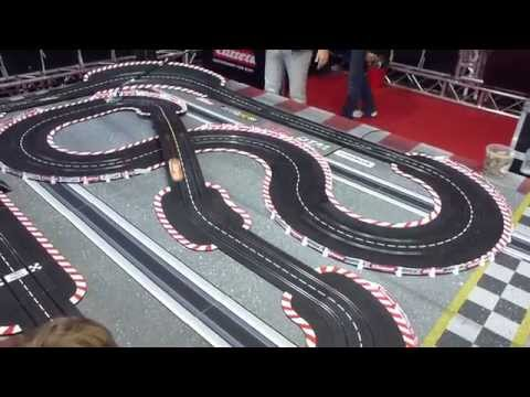 2015 IAA Carrera Slot Car Track in Action  * see also Playlist