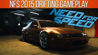 Need for Speed 2015 Drifting Gameplay, 180sx Customization & Drift Tuning