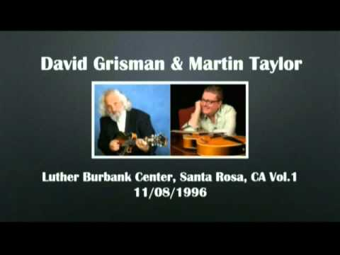 【CGUBA068】David Grisman & Martin Taylor 11/08/1996 Vol.1