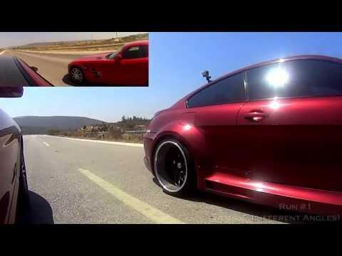 Mercedes-Benz SLS AMG vs Modified BMW E63 M6