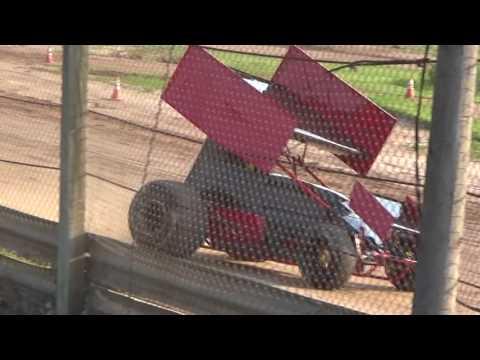Paradise Speedway Brandyn Griffin Practice 18/9/17